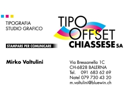 Tipografia Tipo Offset Chiassese SA